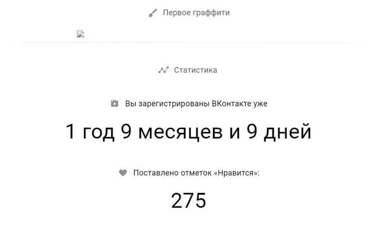статистика личной страницы вконтакте